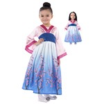 Mulan Inspired Child and Doll Dress Set