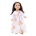 White Beauty Wedding Dress for Dolls