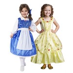 Beauty's Cottage to Castle Dress Up Set