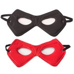 Black and Red Reversible Power Mask