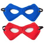 Blue and Red Reversible Power Mask