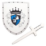 Blue Royal Sword and Shield Set