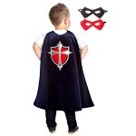 Navy Prince Cape and Mask Set