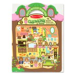 Chipmunk House Puffy Sticker Play Set
