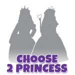 Create Your Own 2 Dress Princess Set