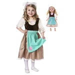 Cinderella's Rag Work Dress Child and Doll Dress Set