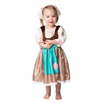 Toddler Cinderella's Rag Work Dress with Hairpiece