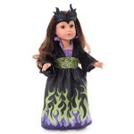 Dragon Queen Doll Dress with Headpiece
