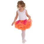 RETIRED - Fuchsia with Orange Tutu