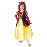 SATIN Snow White Dress Up Costume