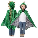 Green Scaley Dragon Cloak