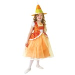 Candy Corn Princess Dress with Hat