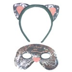 Kitty Cat Mask and Ears