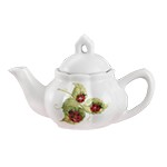 Child's Porcelain Ladybug Tea Set with Basket