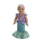 The Little Mermaid 2-Piece Doll Dress