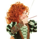 Brave Princess Merida Replica Wig