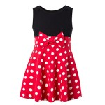 Polka Dot Minnie Inspired Tank Dress