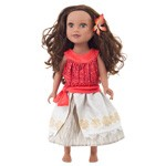 Polynesian Princess Doll Dress