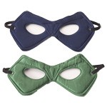 Navy and Green Reversible Power Mask