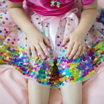Party-Fun Sequin Skirt