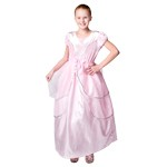 Tween and Plus Sized Royal Pink Ballgown Dress