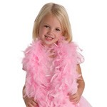 Pink Chandelle Feather Boa