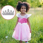 Pink Party Princess Dress and Tiara