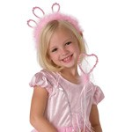 Pink Princess Tiara and Wand Accessory Set