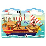 Pirate Puffy Sticker Play Set