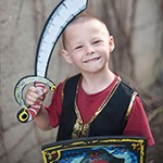 Bejeweled Pirate Sword and Shield Set