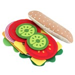 Sandwich Set Felt Play Food