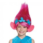 Poppy Wig with Attached Headband and Troll Ears