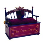 Prince Dress Up Storage Chest