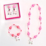 Puffed Poodle Jewelry Set