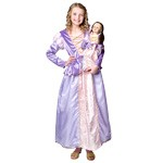 Rapunzel Child and Doll Dress Set