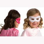 Reversible Hero Pink and White Mask