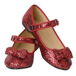 OVERSTOCKED! Ruby Red Slippers Child SIZE 1