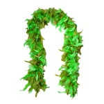 Green Seaweed Feather Boa for Mermaids