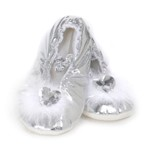 Silver Princess Slipper