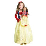Snow White Child and Doll Dress Set