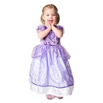 Toddler Purple Amulet Princess Dress Up Costume