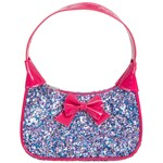Sparkle and Shine Pink Bow Purse