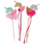 Unicorn Wand - Mint, Gold or Silver
