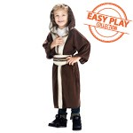Galactic Light Side Brown Robe