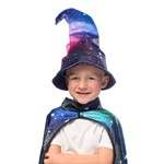 Starlight Wizard Cape and Hat Set