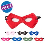 Hero Mask Party Pack of 8