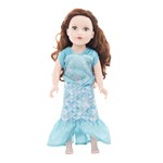 Under the Sea Mermaid Doll Dress