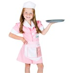 Waitress Dress Up Costume