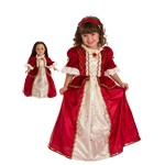 Winter Beauty Child and Doll Dress Set